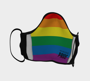 Leather Pride Mask
