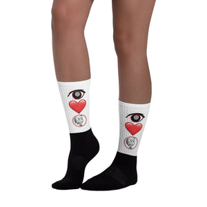 Socks Eye Love
