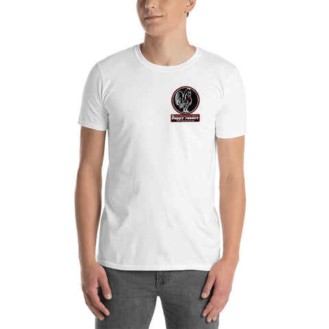 Short-Sleeve Unisex T-Shirt Small Logo Black