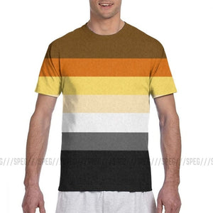 Funny Gay Bear Pride Flag T-Shirts