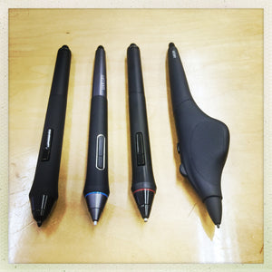 Wacom Pens.. What's the difference?