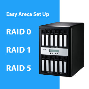 Setting up your Areca RAID