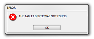 Restarting Your Wacom Services Driver - 'Tablet Driver Not Found'