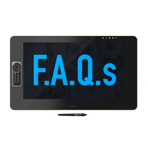 Wacom's Frequently Asked Questions