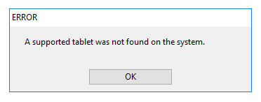 Restarting Your Wacom Services Driver - 'Tablet Driver Not