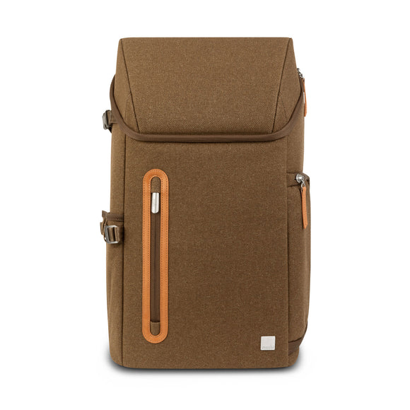 Moshi Arcus Multifunctional Backpack, Vintage Brown - 99MO094731