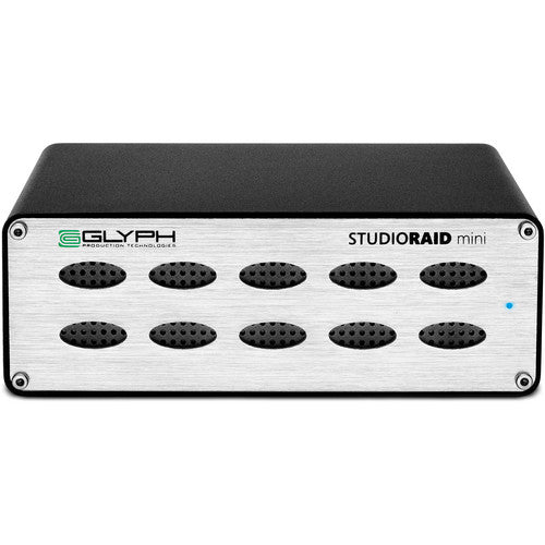 Glyph Studio RAID Mini 2-Bay 10TB SRM10000B - [machollywood]