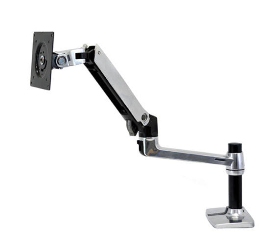 Ergotron LX HD Sit-Stand Desk Mount LCD Arm for 22HD 45-241-026