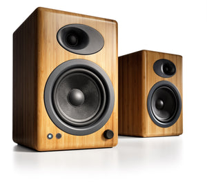 AudioEngine A5+ Powered Speakers Bamboo