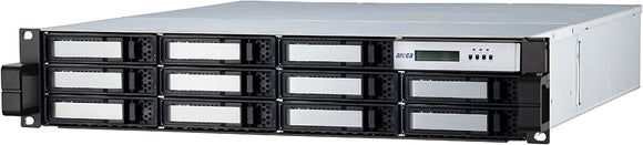 Areca 12Bay 2U Rackmount Thunderbolt 3 96TB ARC-8050T3-12R-96TB - [machollywood]