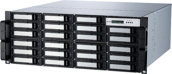 Areca 24-bay 9-Port Thunderbolt™ 3 Rackmount 192TB ARC-8050T3-SAN-9-192TB - [machollywood]