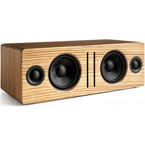 AudioEngine B2 Wireless Speakers Zebrawood