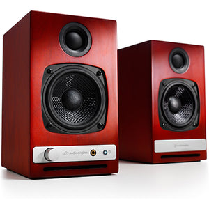 AudioEngine HD3 Wireless Speakers Cherry