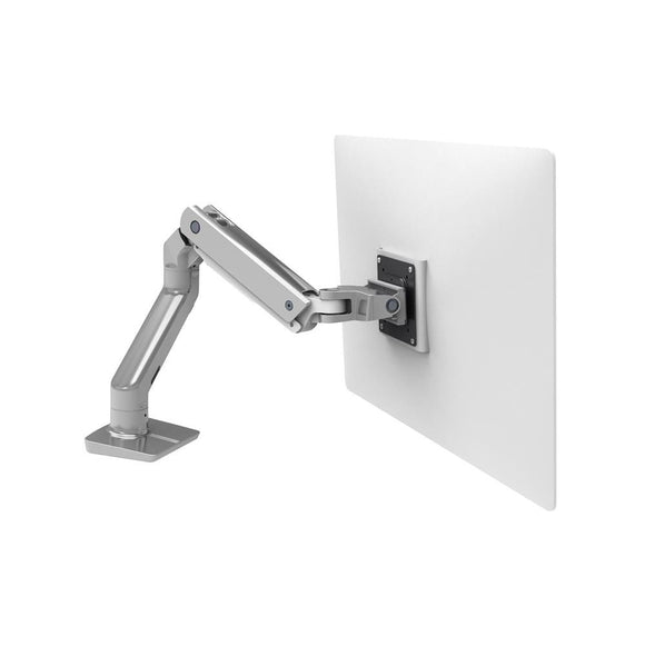 Ergotron 45-475-026 HX Desk Mount Single Monitor Arm (polished aluminum) - [machollywood]