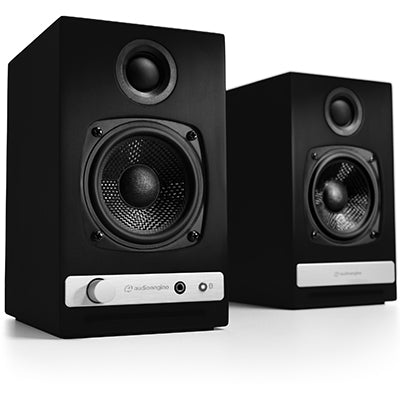 AudioEngine HD3 Wireless Speakers Black - [machollywood]