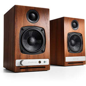 AudioEngine HD3 Wireless Speakers Walnut