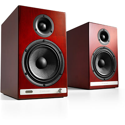 AudioEngine HD6 Wireless Speakers Cherry - [machollywood]