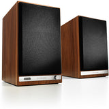 AudioEngine HD6 Wireless Speakers Walnut