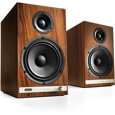 AudioEngine HD6 Wireless Speakers Walnut - [machollywood]