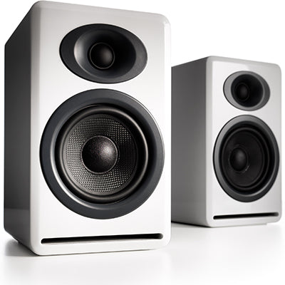 AudioEngine P4 Passive Speakers White - [machollywood]