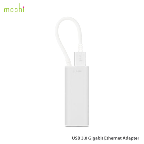 Moshi USB 3.0 to Gigabit Ethernet Adapter 99MO023209 - [machollywood]