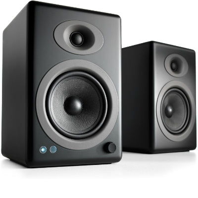 AudioEngine A5+ Wireless Powered Speakers Black - [machollywood]