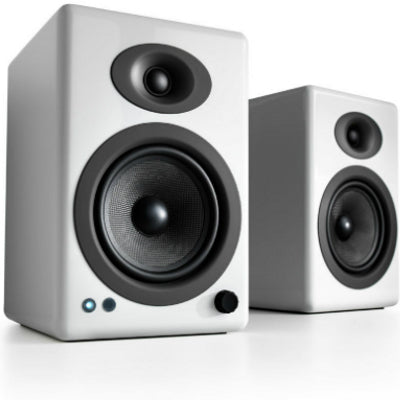 AudioEngine A5+ Wireless Powered Speakers White - [machollywood]