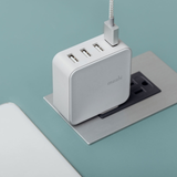 ProGeo 4-Port USB Wall Charger (35 W, US) 99MO022114