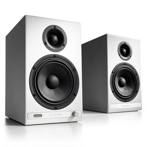 AudioEngine HD6 Wireless Speakers White - [machollywood]