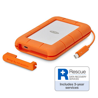 LaCie Rugged Thunderbolt USB-C 4TB STFS4000800 - [machollywood]