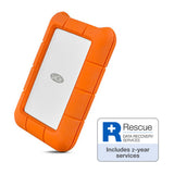 LaCie Rugged USB-C 5TB STFR5000800 - [machollywood]