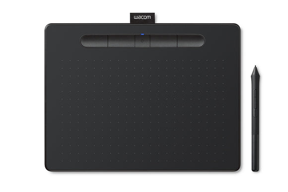 Wacom Intuos M, BlueTooth - CTL6100WLE0 / CTL6100WLK0 - [machollywood]