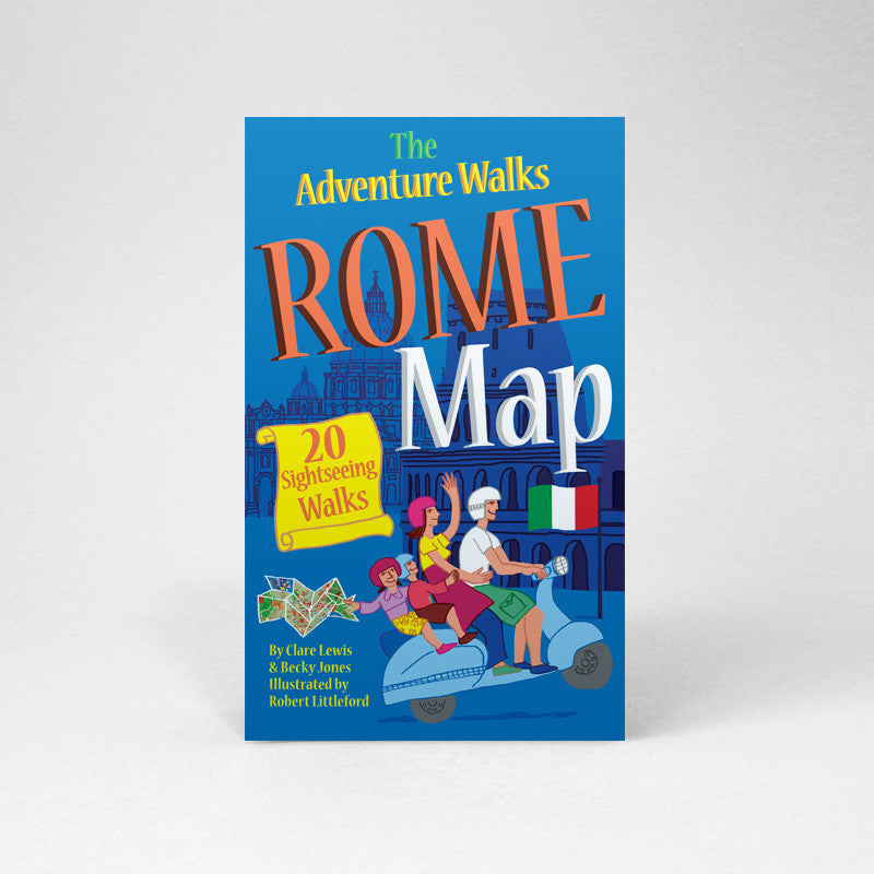 Rome Adventure Walks Map