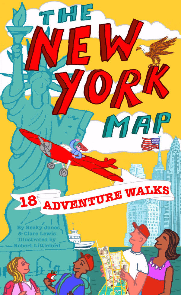 New York Adventure Walks Map