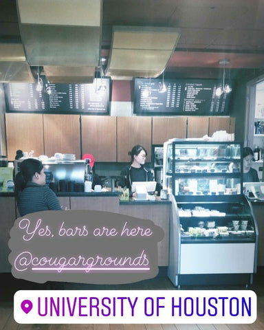 good cravings at UH, cougar grounds coffee