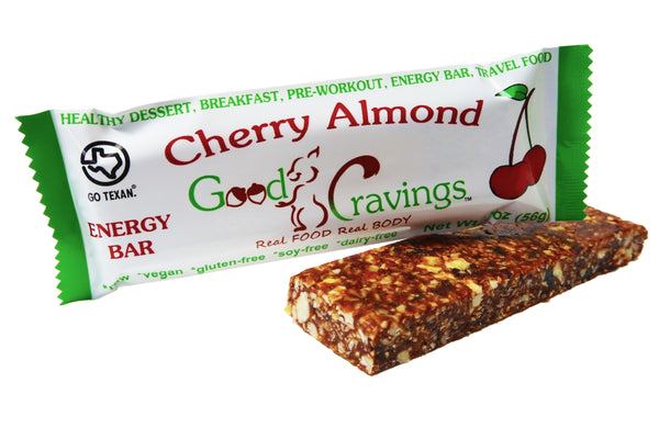 Cherry Almond Raw Energy Bar
