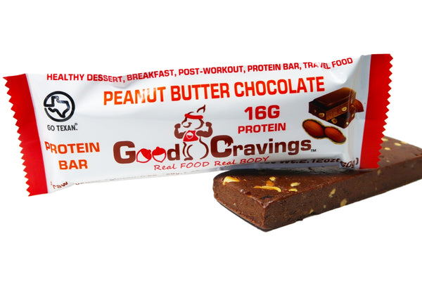 Peanut Butter Chocolate Raw Vegan Protein Bar