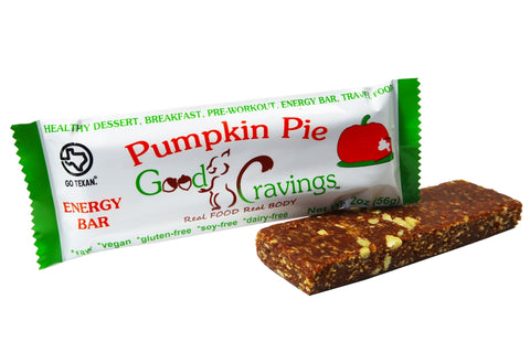 Pumpkin Pie Raw Energy Bar