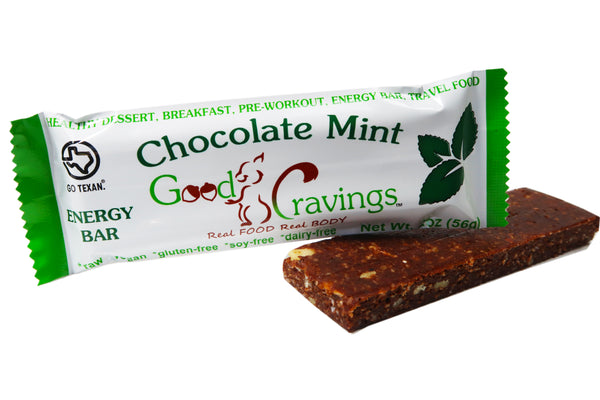 Chocolate Mint Raw Energy Bar
