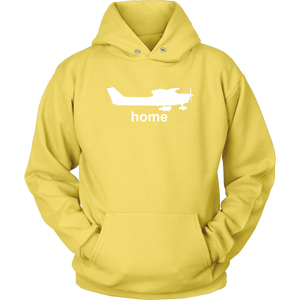 Unisex Pilot Home Hoodie Sweatshirt Cessna - Flash Aviation