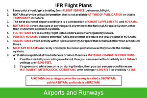 IFR & VFR Flashcards Combo