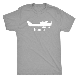 Men's Triblend Pilot Home T-Shirt Cessna - Flash Aviation