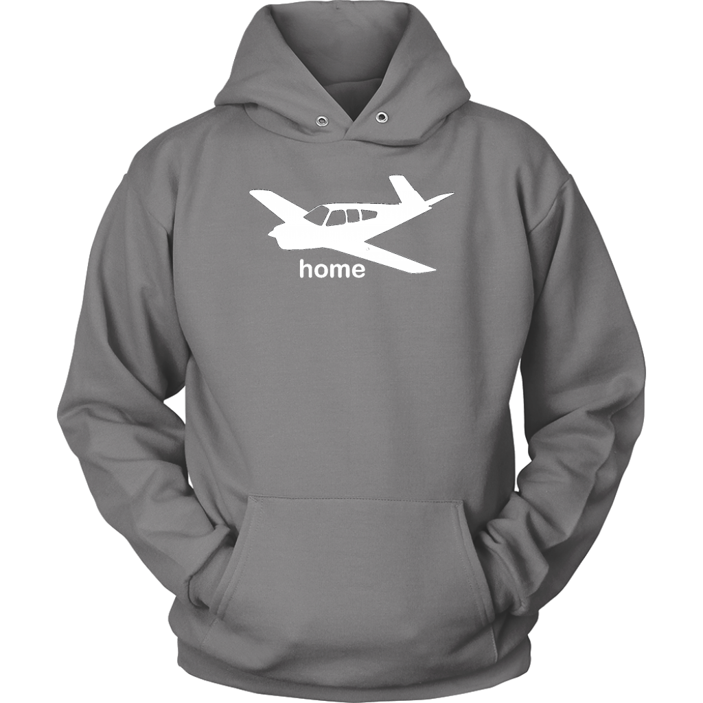 FLIGHT AIRPLANE AVIATION FLY PILOT FLYING TRAVEL Mens Charcoal Hoodie