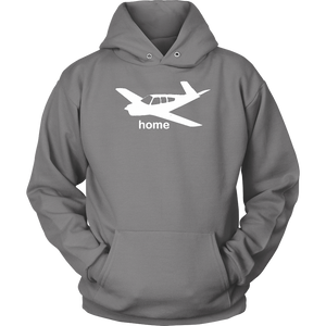 Unisex Pilot Home Hoodie Sweatshirt Bonanza - Flash Aviation