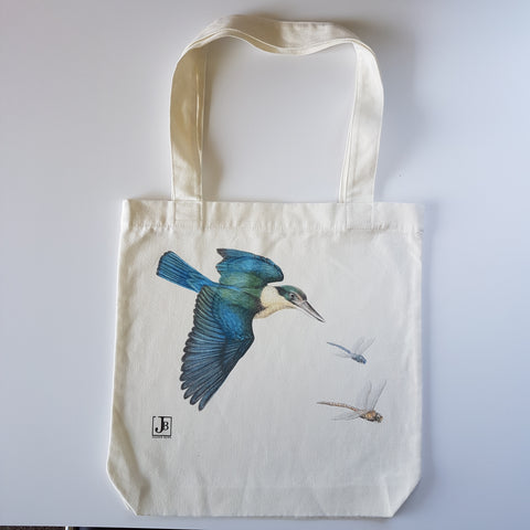 Kingfisher & Dragonfly Tote