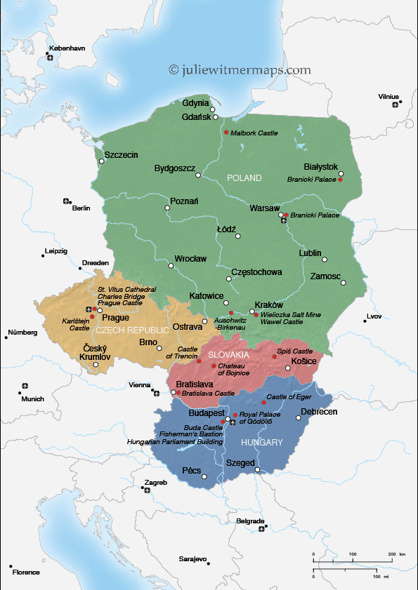 final Central Europe map