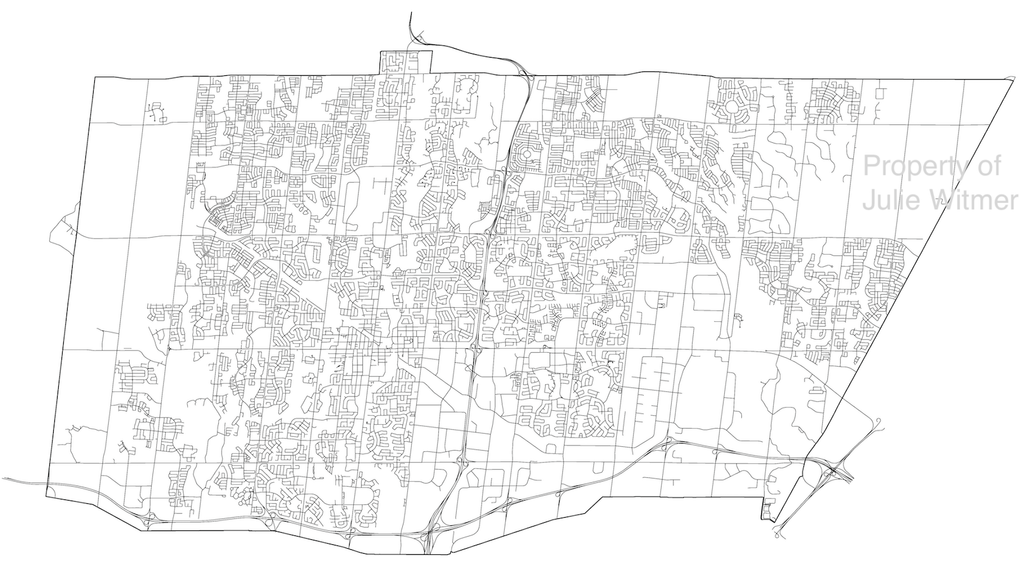 Brampton cycling map - layout draft - Julie Witmer
