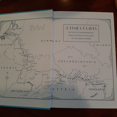 Map from Time of Gifts