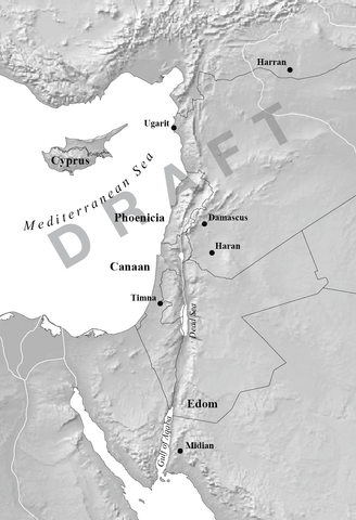 Draft 2 Levant map
