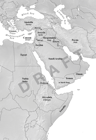 Draft 2 Middle East map